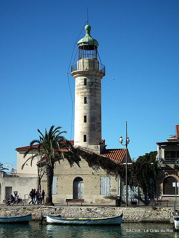 Le Vieux phare du Grau du Roi