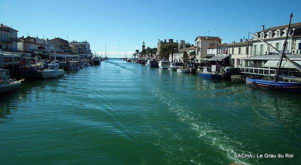 Canal , le Grau du Roi
