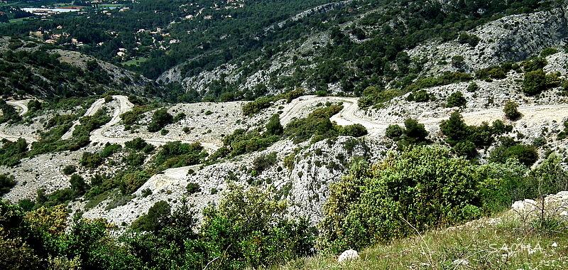 Route des Crêtes Massif du Petit Luberon