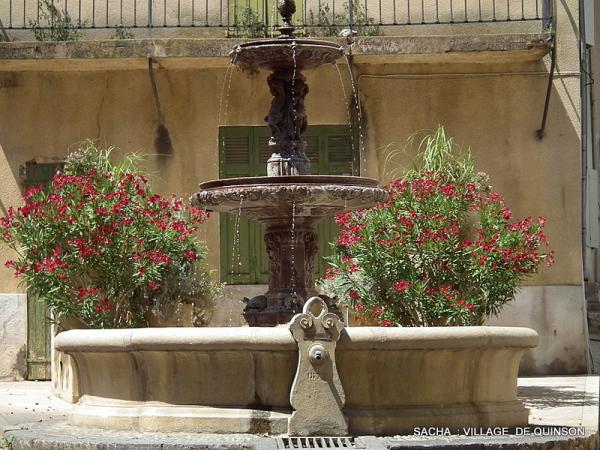 Fontaine Quinson Alpes de Haute Provence
