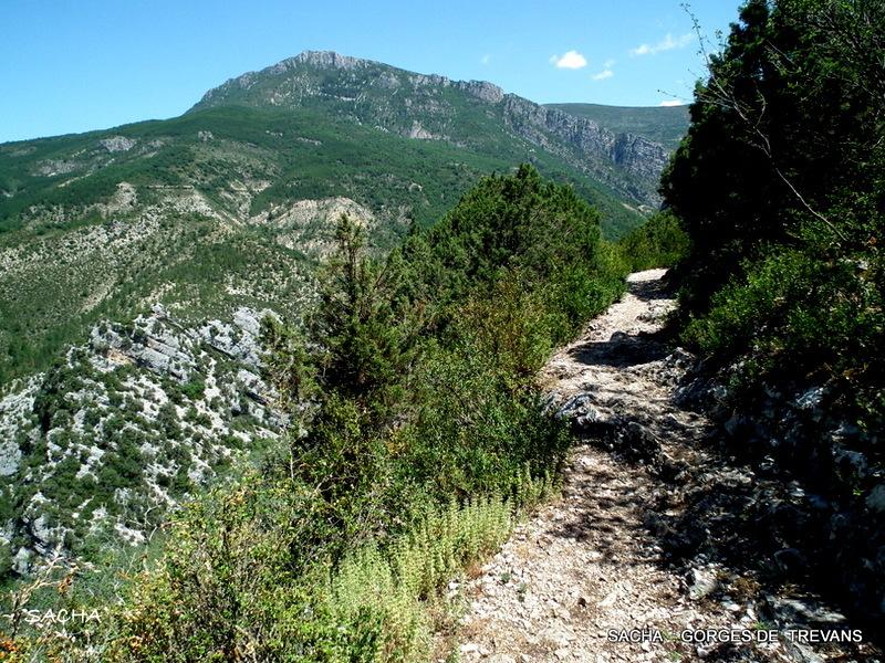 sentier de rando  Gorges de Trévans 04