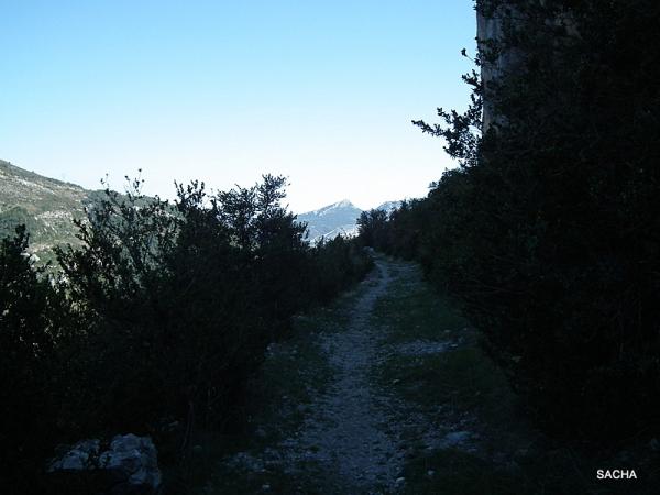 Ancienne voie romaine Alpes de Haute Provence
