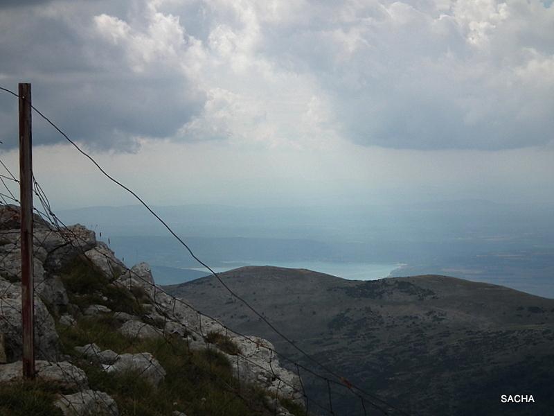 Vue  du Mont Chiran sur le  lac de Ste Croix 04