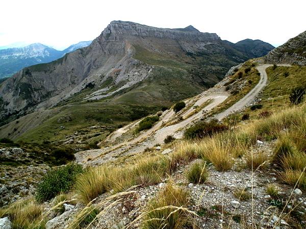 Vue du Mt Chiran sur le Mourre de Chanier 04