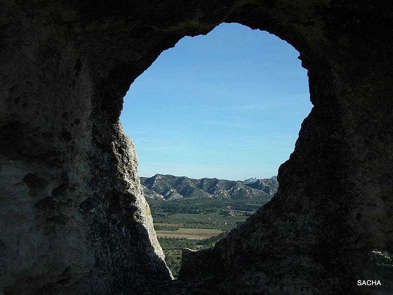 """Regard sur les Alpilles """" Baux de Provence """" 13"""
