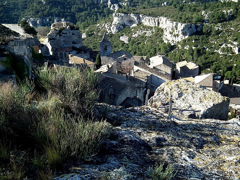 """Clocher """" Baux de Provence """" Alpilles """""""