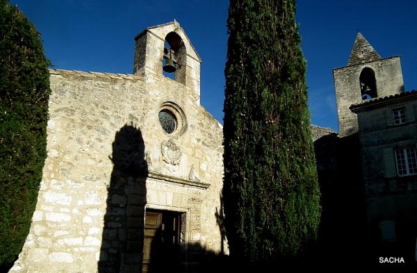 """Chapelle des Pénitents Blancs """" Baux de Provence """""""