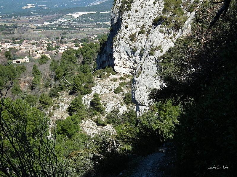"Mes chemins de rando "" rochers de Baude """