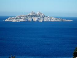 Ile de Riou vue du panorama calaque de port Pin