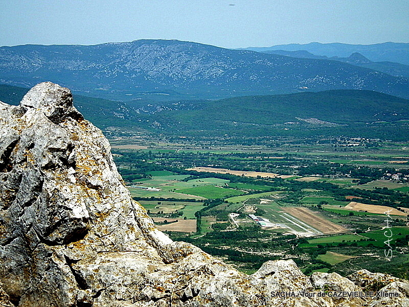 Du sommet du Pic St Loup Hérault