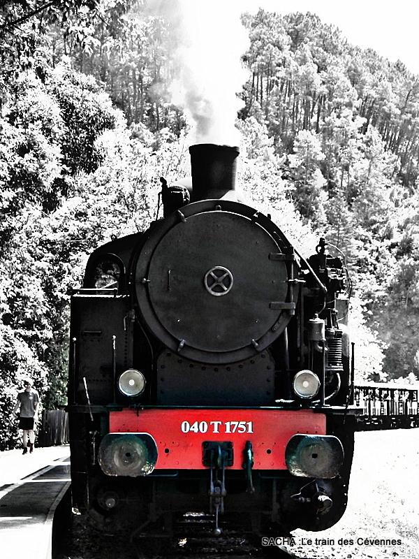 """Train à vapeur des Cévennes  Anduze """" Gard """""""