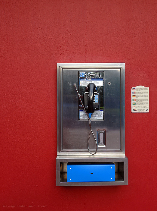 pay phone or public phone