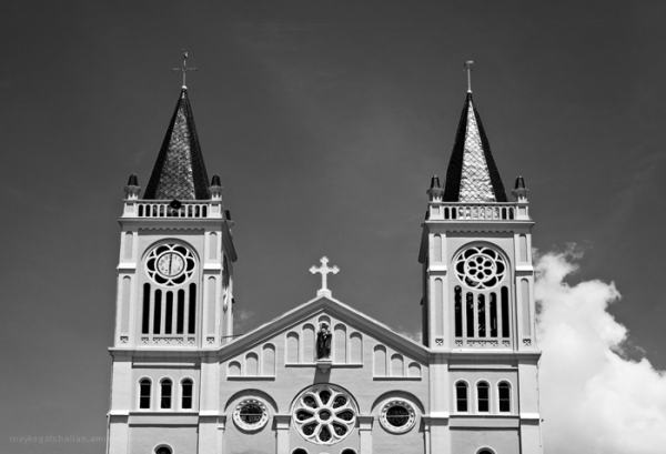 Baguio Catherdral in the Philippines