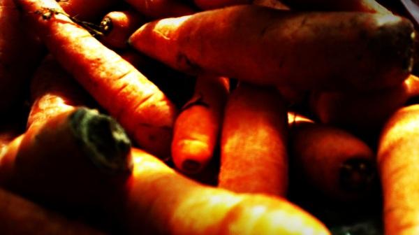 carrots.... :)