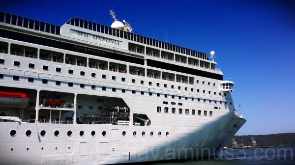 replica of titanic... :)