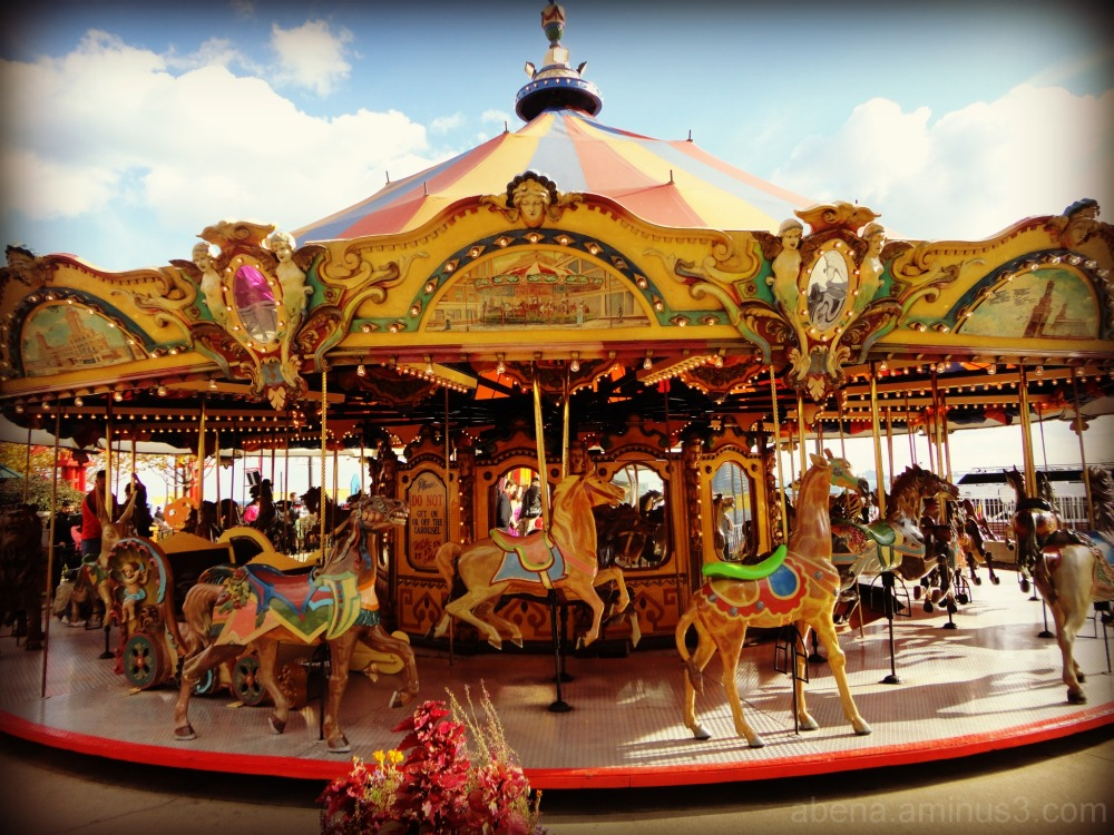 Carousels ... in colour