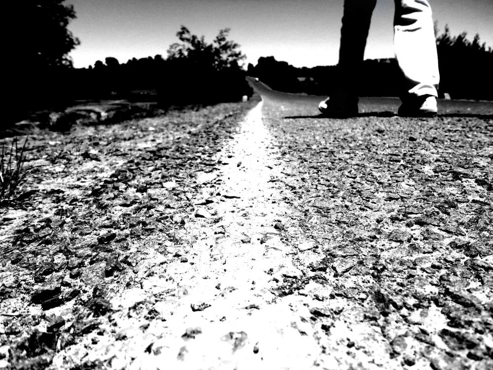 my footsteps are etched on the earth, are yours?