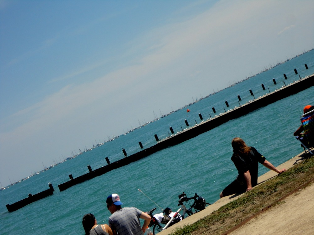 "Summer lazin' at the ""beach"""