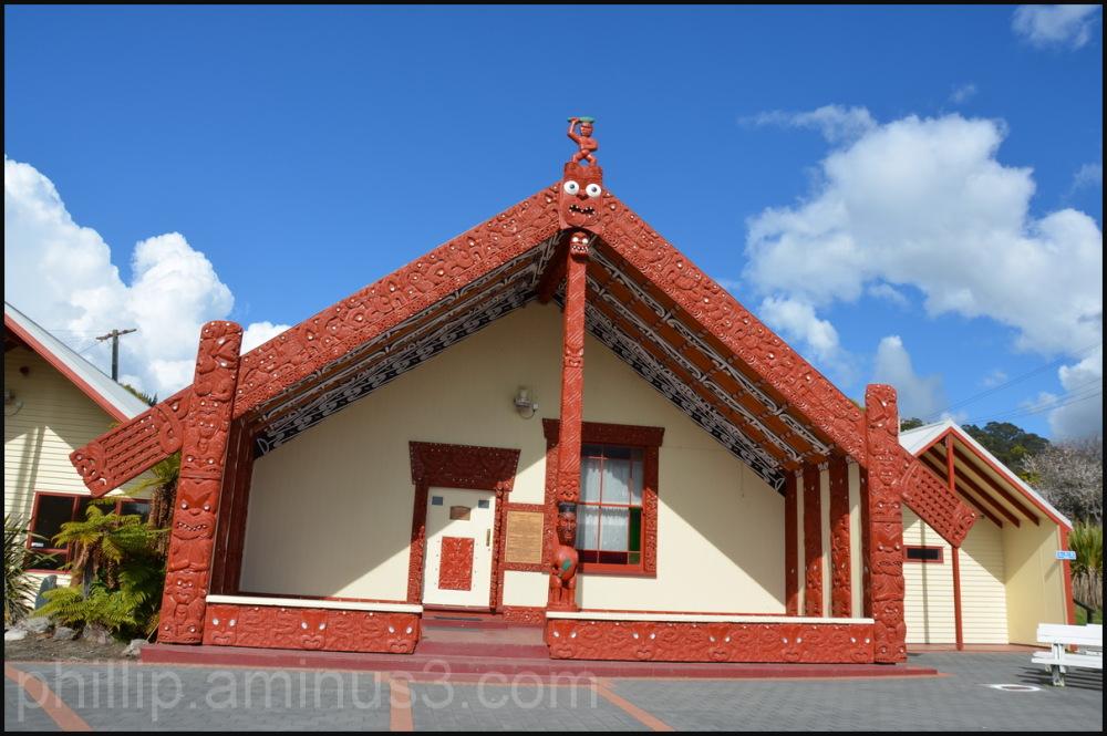 """Whare Tipuna / Ancestral Meeting House"""