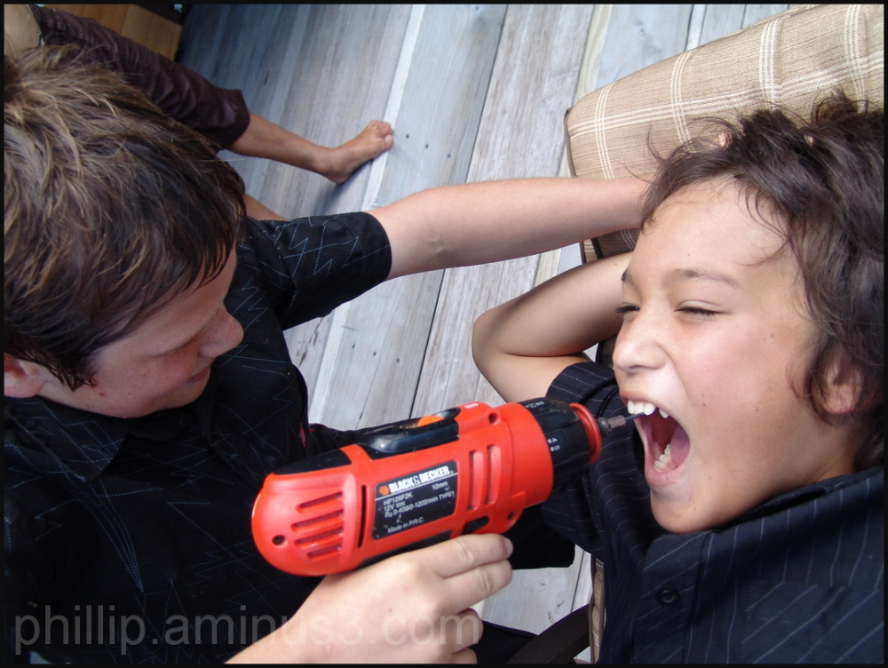 """Dentist in Training"""