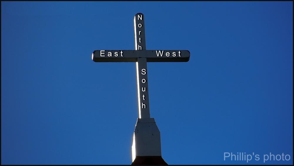 Cross Roads in the Sky