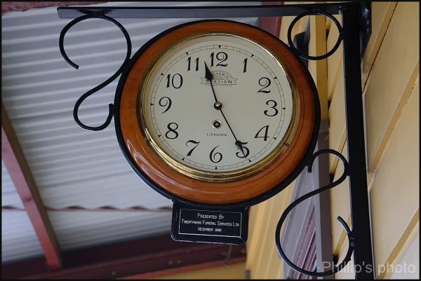 Station Clock.