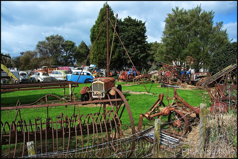 A Machinery Graveyard.