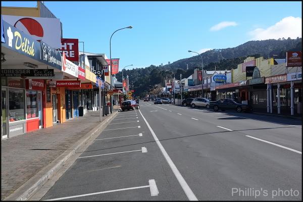 Thames NZ main street