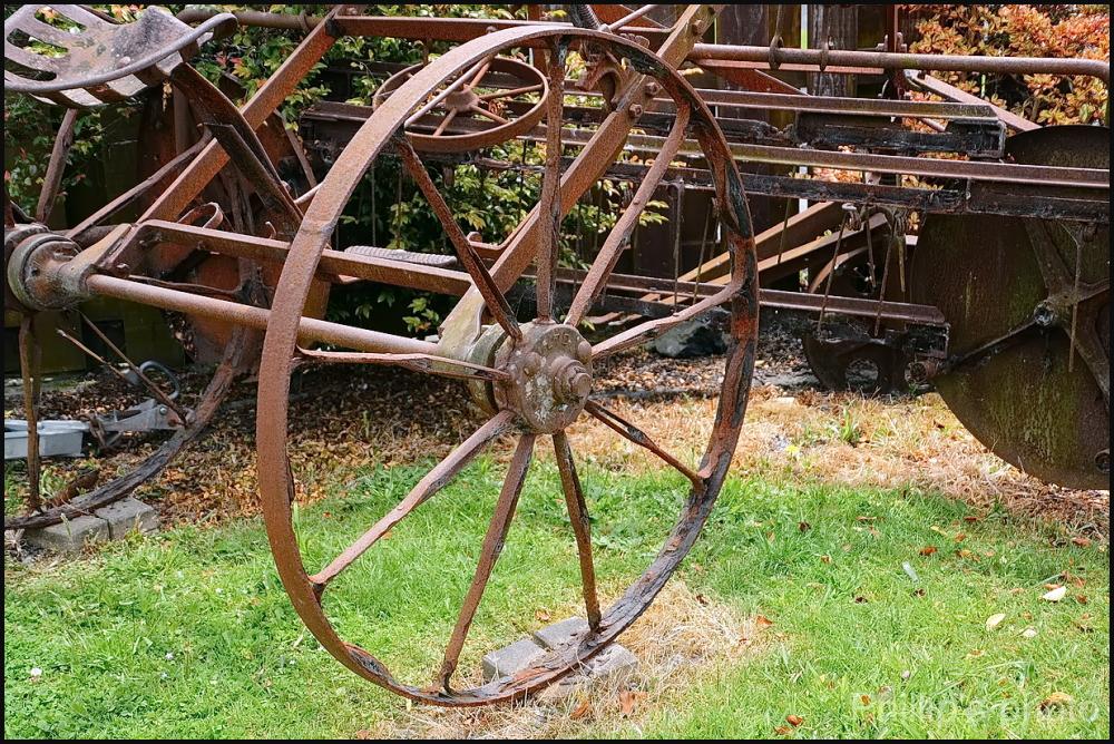 Old Wheel.