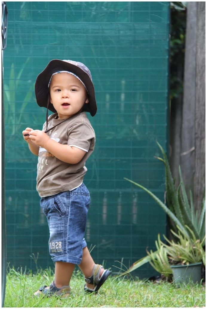 Owen  posing