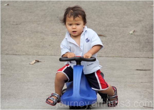 owens first bike xmas2011
