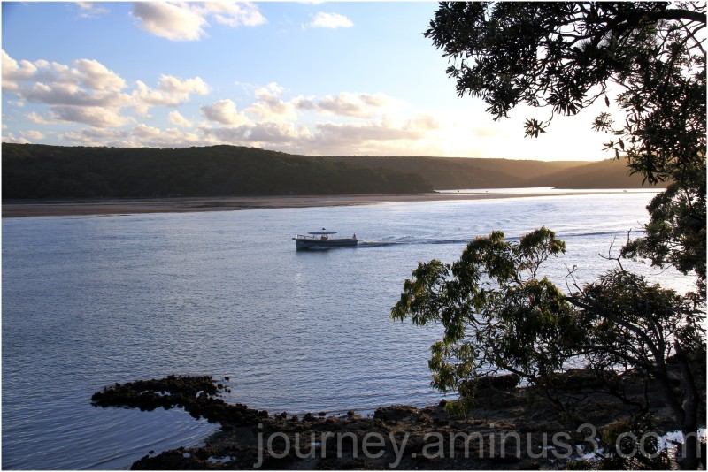 Naval shuttle Sth West Arm Port Hacking