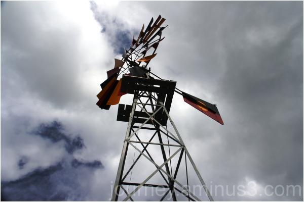Aboriginal flag windmill