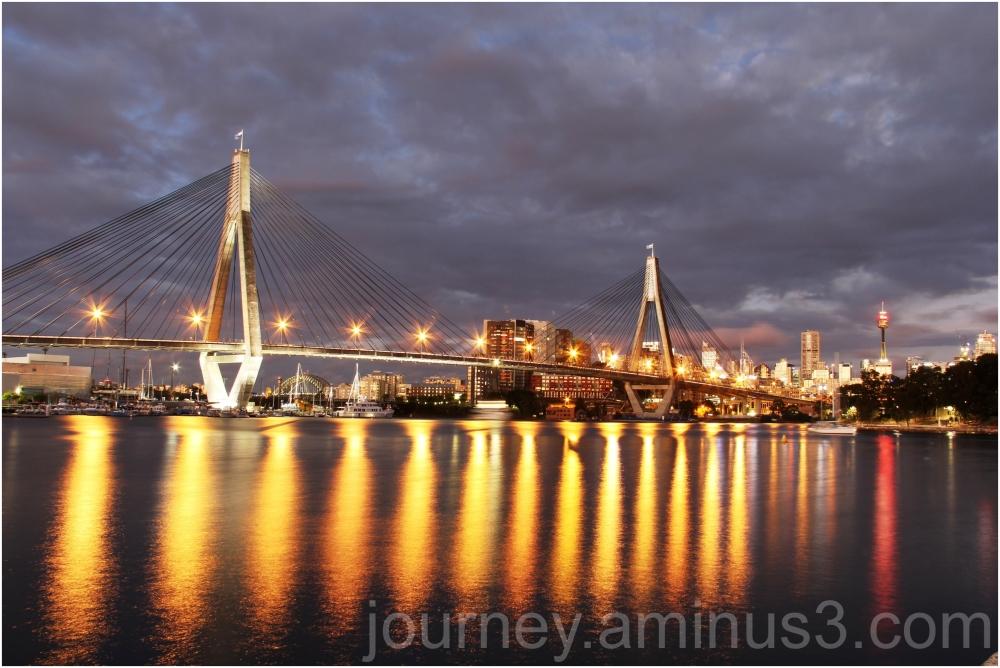 Pyrmont Bridge Sydney