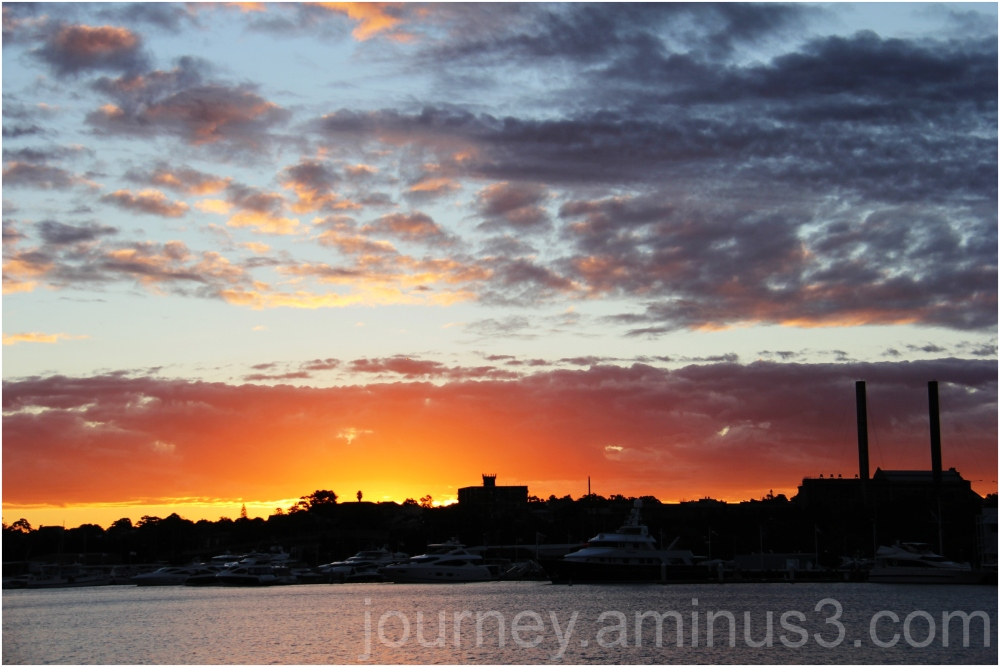 Pyrmont sunset