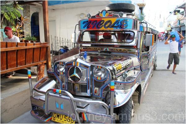 Sabang Beach Jeepney