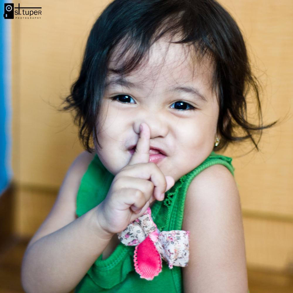 Baby Zai Says Sshhh