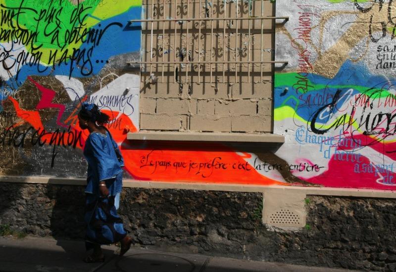 Rue Paris Art-urbain message