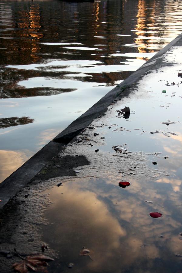 reflet paris canal nuage
