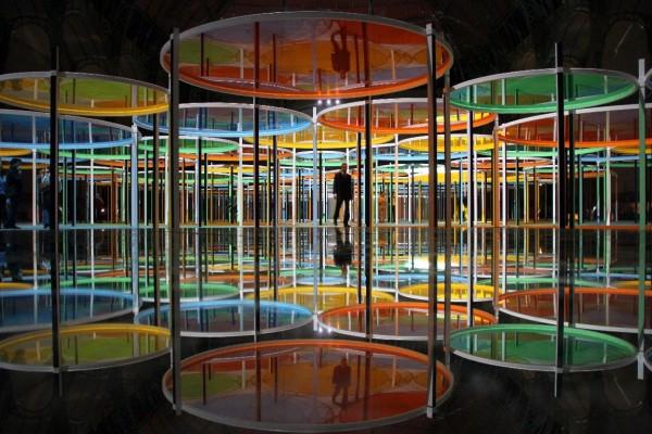Exposition grand-palais Buren Monumenta paris