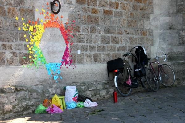 paris quai-de-seine art-urbain vélo
