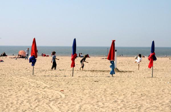 mer plage enfance parasol