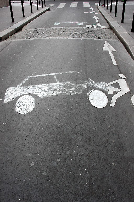 paris velo art-urbain passage-piéton