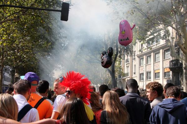 Techno-Parade paris lumière ballon punk