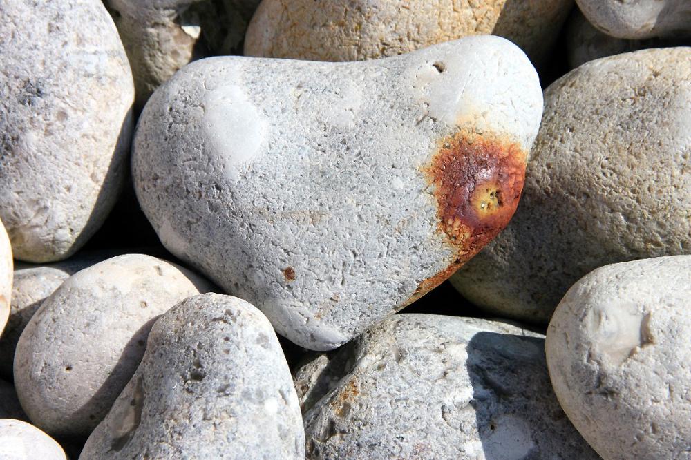 ailleurs mer plage coeur