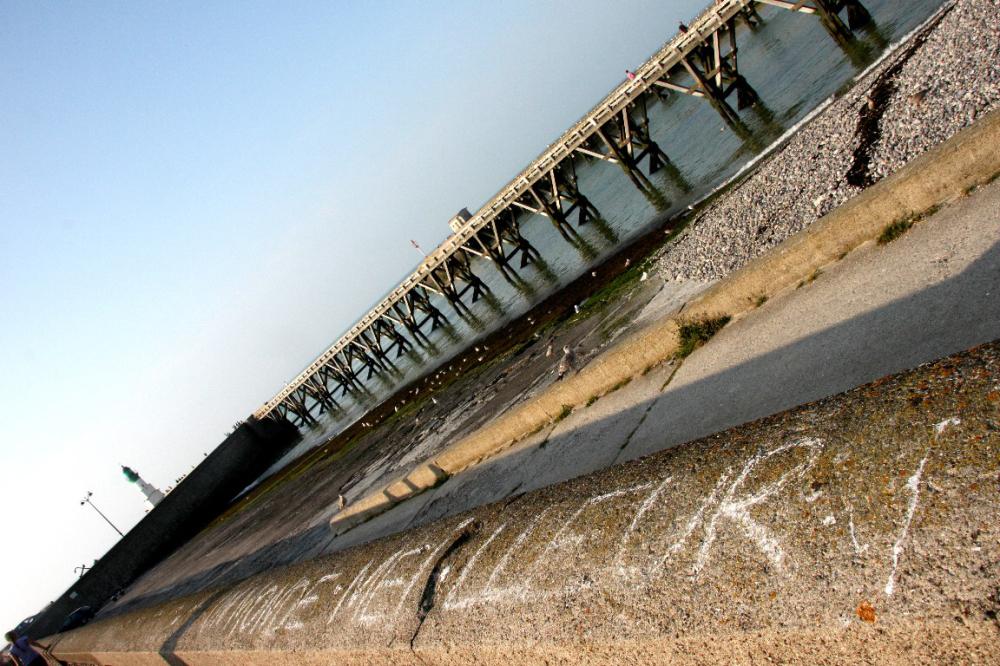 ailleurs mer plage port message