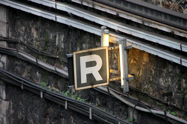 rails abécédaire paris lettre