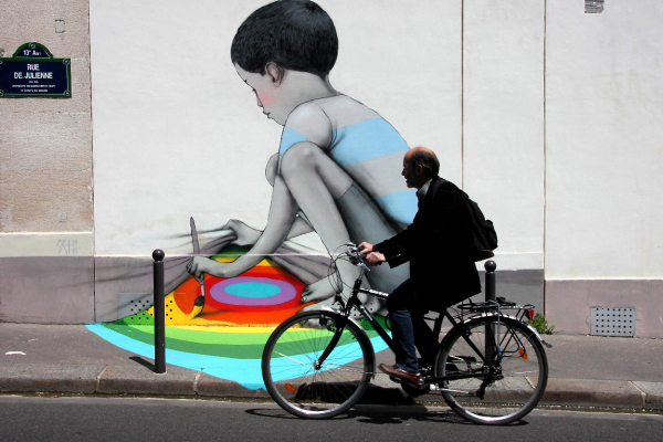 paris art-urbain vélo