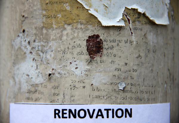 affiche matière mur lettre message