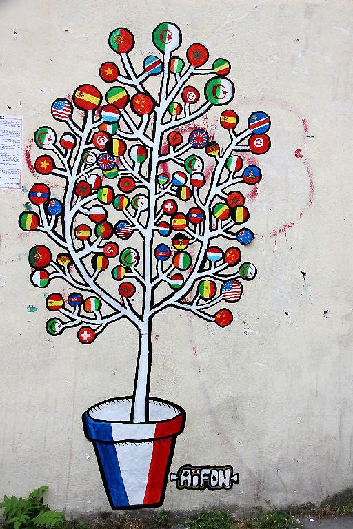 paris Belleville art-urbain